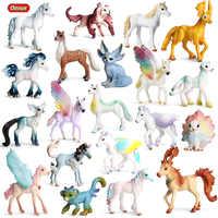 Oenux Ursprüngliche Echte Märchen Fliegen Pferd Simulation Tier Mythische Elfen Elf Pegasus Action-figuren Modell PVC Nette Kinder Spielzeug