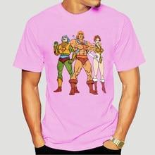 MotU puma He-Man masterof The Universe T-Shirt uomo scheletro Cartoon 80s She-Ra Beast Shirt T-Shirt manica corta 5427A