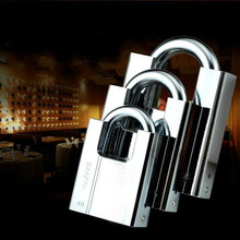 Padlock Waterproof Anti-Theft-Lock Unlocked-Head Multifunctional Antirust Keyed Pry