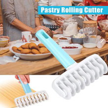 Strip Ribbon Rolling Pin Set Wheel Roller Cake Different Gears Baking Tool Dough Cutter Strip Ribbon Rolling Pin Set-40(China)