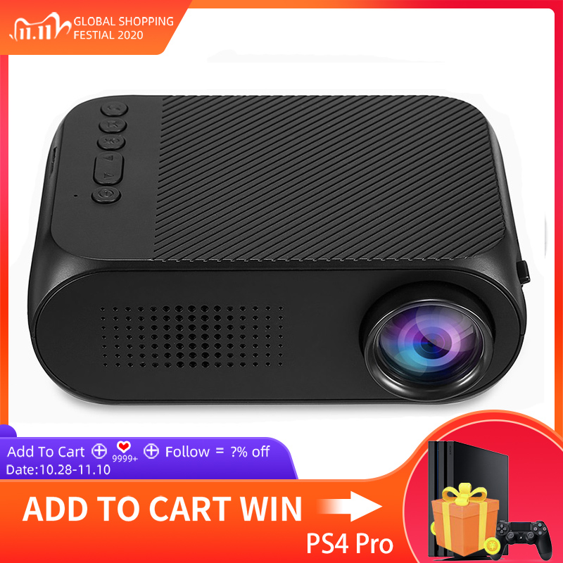 YG320 Mini Projector YG300 Upgrade Portatil Led Proyector Projetor Audio HDMI USB Mini Projetor Home Theater Media Player Beamer