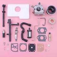 Carburetor Intake Manifold Repair Kit For Stihl MS180 MS170 018 017 Chainsaw 11301200608 1130 124 0800 Air Fuel Filter Worm Gear