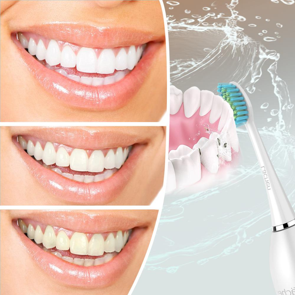 Global Version Lachen T8 Sonic Electric Toothbrush Upgraded Adult Waterproof Ultrasonic automatic Toothbrush USB Rechargeable