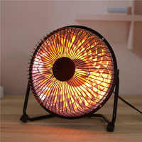 Mini Home Heater Infrared 220V 220W Portable Electric Air Heater Warm Fan 200*200MM Desktop for Winter Household Bathroom