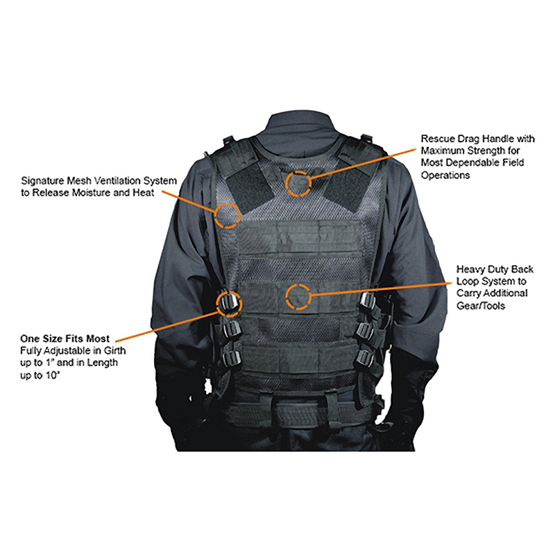 Military Tactical Vest Plate Carrier 5