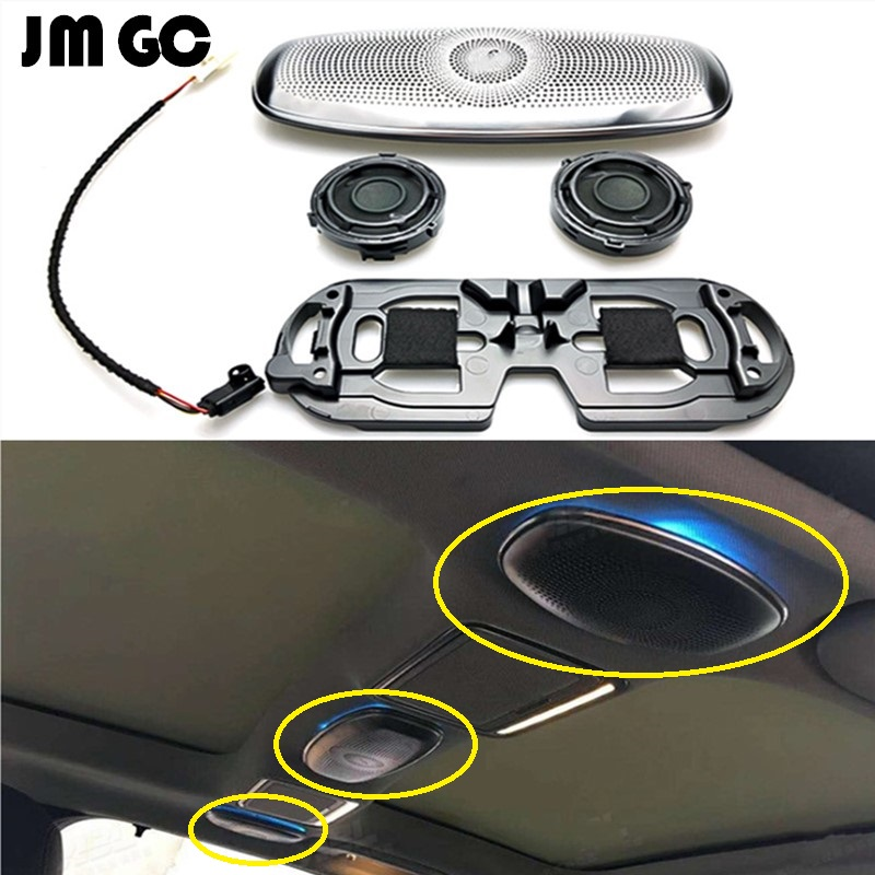 High-quality LED Ambient Light For Mercedes-Benz W222 W213   Ceiling Speakers Ambient Light Synchronous Original Ambient Light
