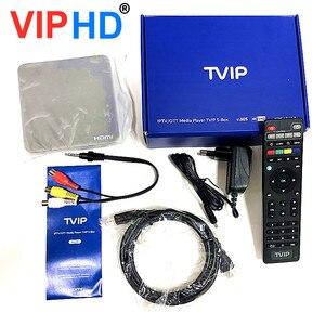 Image 5 - ТВ приставка vip605, ТВ приставка Linux, 4K, ОТТ, 8 ГБ, медиаплеер Amlogic S905X, Tvip S Box V.605, Tvip 605, Smart Tv приставка, 2020