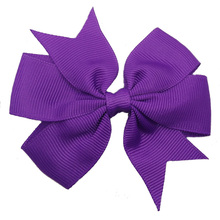 Bows-Clips Hair-Accessories Headware Solid A068 1pcs Hairpin Ribbon Hair-Bows-Boutique