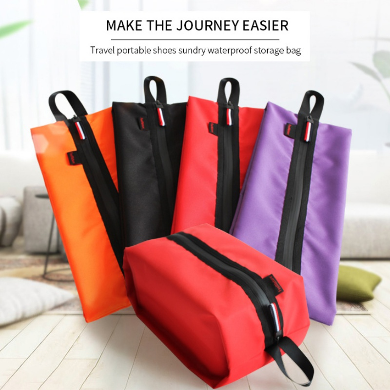 Portable Shoes Bags Durable Ultralight Outdoor Hiking Travel Storage Bag Waterproof Oxford Swimming Bags