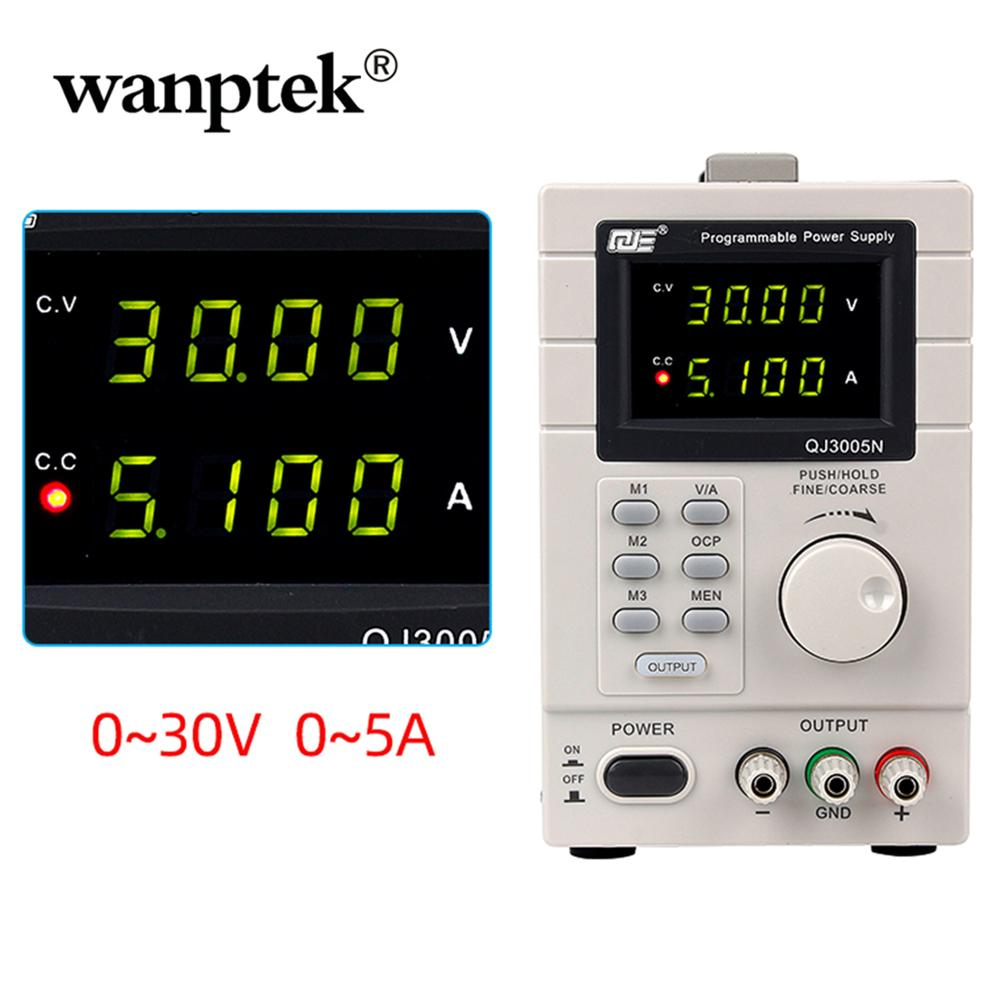 Professional 6KG 4-Digits DC Linear Power Supply adjustable 30V 5A laboratory 0.1V 0.01A Digital DC Power Supplies 220 V 50Hz