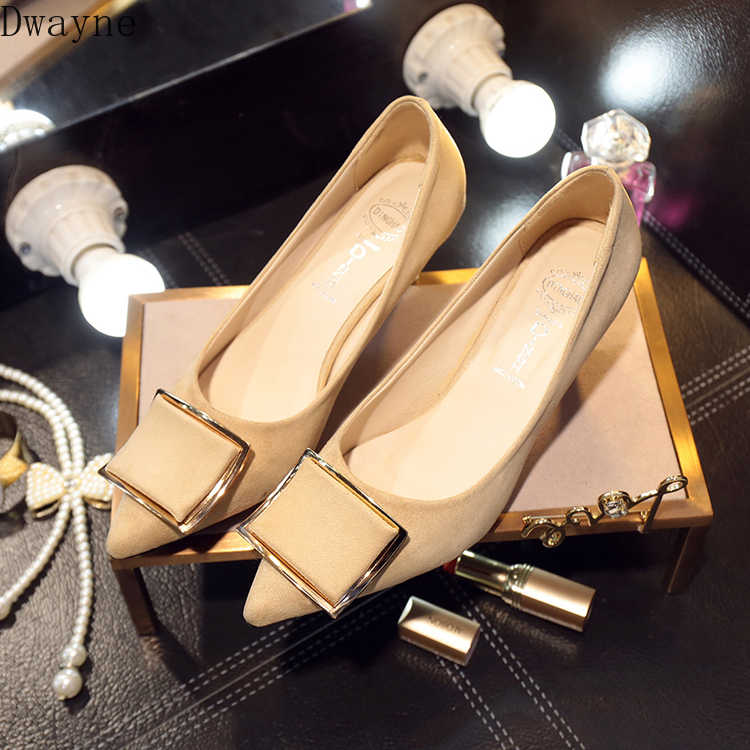 2019 automne nouveau pointu talons hauts bouche peu profonde talons minces chaussures simples 6 Cm sauvage coréen Sexy élégant chaussures pour femmes pompes concises