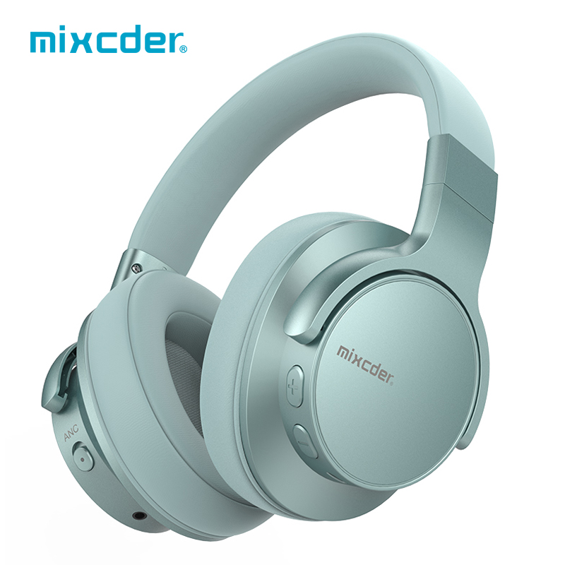 Mixcder E7 Active Noise Cancelling Bluetooth Headphones <font><b>5</b></font>.<font><b>0</b></font> 25 Hours Play time Fast Charge with Mic Stereo Wireless Headphone image