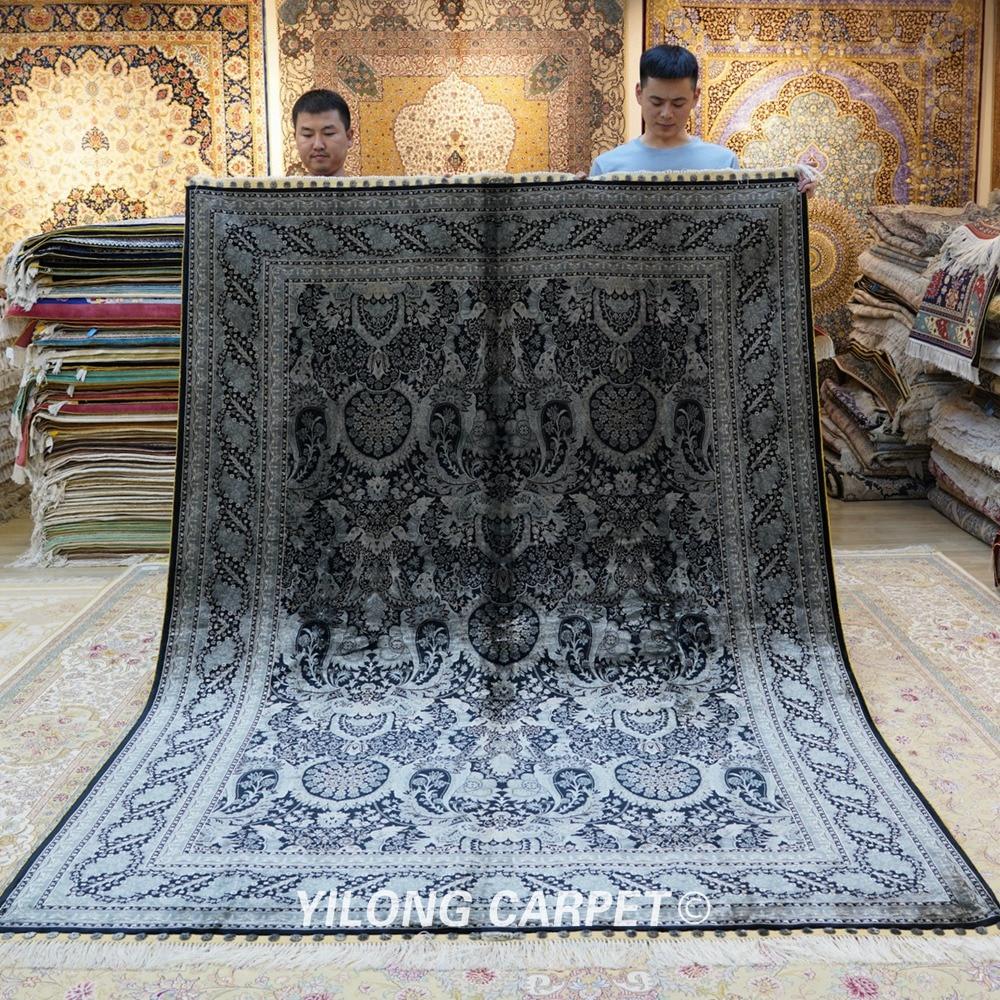 Yilong 6'x9 'հյուրասենյակի գորգը ձեռնամուխ - Տնային տեքստիլ - Լուսանկար 1