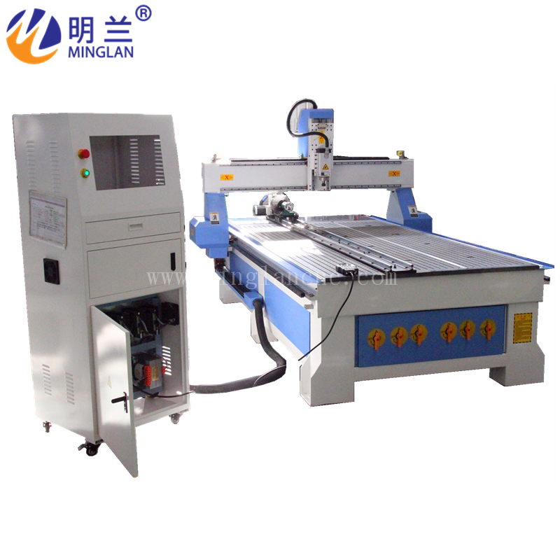 4 Axis Cnc Router Machine 1325 Woodworking Engraving Cutter/ Rotary On Table