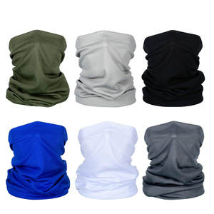 Scarf Neck-Gaiter Uv-Protection Women Summer Breathable Sunscreen for D6 6pcs