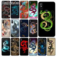 cover for redmi 7 Chinese Dragon Cover Black Soft Shell Phone Case For redmi 5plus 5A note7 6pro 4 note5A 7 note6pro coque(China)