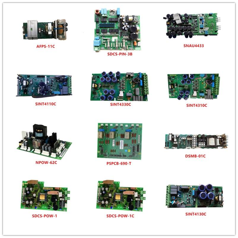 AFPS-11C|SDCS-PIN-3B|SNAU4433|SINT4110C|SINT4330C|SINT4310C|NPOW-62C|PSPCB-690-T|DSMB-01C|SDCS-POW-1|SDCS-POW-1C|SINT4130C Used