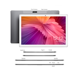 Image 5 - 10.1 pouces tablettes Teclast M30 4G Phablet 2560x1600 Android 8.0 4GB RAM 128GB ROM MT6797 X27 Deca Core 7500mAh GPS double Wifi