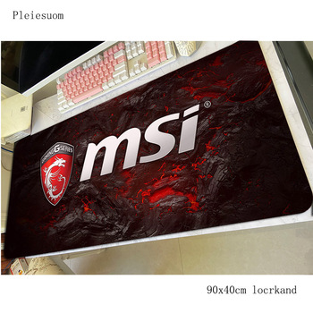 msi mousepad Boy Gift gaming mouse pad 90x40cm pc computer gamer accessories large mat Kawaii laptop desk protector pads
