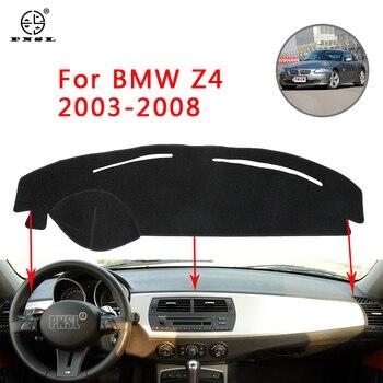 PNSL-housse de tableau de bord, tapis de tableau de bord, pour BMW Z4 E85 2003-2008, protection solaire antidérapante et anti-uv