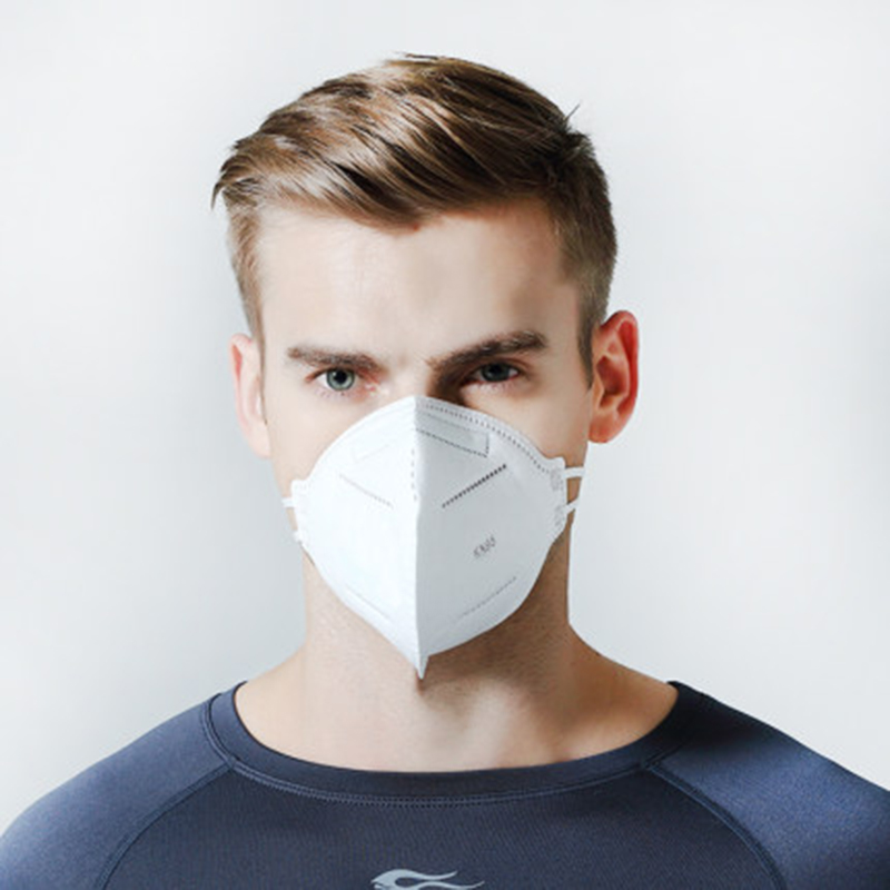 1pcs KN95 Dustproof Anti-fog And Breathable Face Masks 95% Filtration Mouth Masks 4-Layer Non-woven Antibacterial Mask