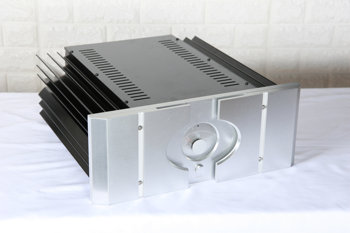 KYYSLB 430mm*430mm*170mm Amplifier Chassis Installation PASS XA 30.5 All Aluminum Large Power Amplifier Chassis DIY Housing