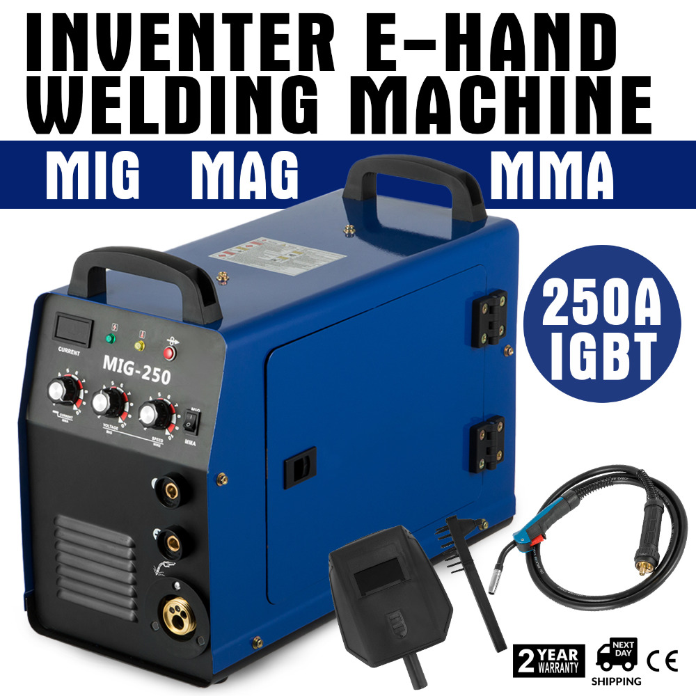 Mig Welding Machine MIG-250 Welder Machine 250A MIG MMA TIG 110V/220V