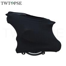 TWTOPSE велосипедный пылезащитный чехол для Brompton складной велосипедный защитный механизм портативный удобный защитный чехол для велосипеда С Седельной сумкой