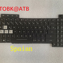 Keyboard FX505DT ASUS Backlight for TUF FX95 FX705G RGB Laptop KR/ND