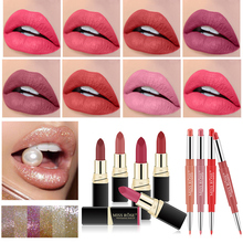 Matte Lipsticks Cigarette-Tube Cosmetic Lipgloss Makeup Moisturize Long-Lasting Waterproof
