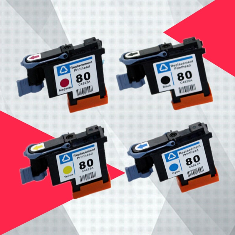 Compatible C4820A C4821A C4822A C4823A Printhead For HP80 Designjet 1000 1050c 1055 Ink Cartridge Print Head For Hp 80