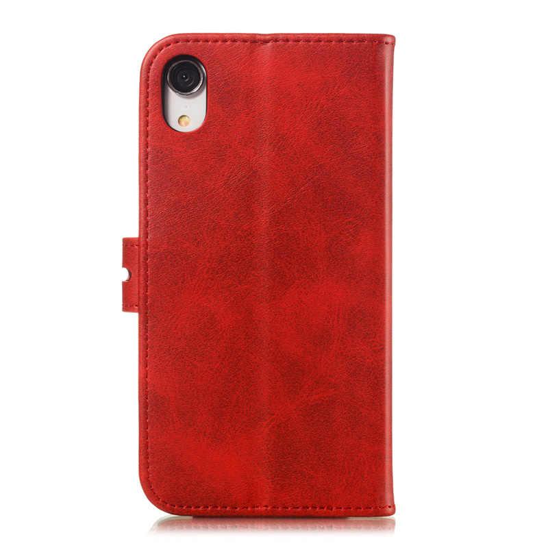 Kisstop หรูหราหนังกระเป๋าสตางค์แม่เหล็กสำหรับ iPhone 11 XR XS MAX 6 6 S 7 8 ช่องใส่การ์ดสำหรับ iPhone 7P 8 PLUS 6P 6sPlus