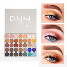 35-color Glitter Eye Shadow Shimmer Matte Eyeshadow Palette Waterproof Smudge-proof Easy To Color Eye Shadow  Pigment Eyeshadow