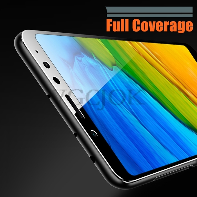 11D Tempered Glass For Xiaomi Redmi 5 Plus 5A Go 6 6A 7A S2 Full Cover Screen Protector On Redmi Note 5 5A 6 Pro Protective Film 6