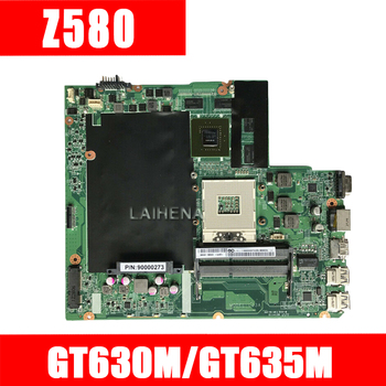 Z580 mainboard For Lenovo Z580 HM76 USB3.0 DALZ3AMB8E0 GT630M/GT635M laptop motherboard USB3.0 Test work 100% original