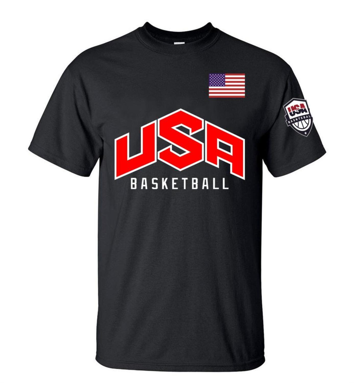 Eua américa bandeira dos homens t camisa superior de alta qualidade t-shirts para o homem 3xl camiseta impresso homme marca roupas casuais streetwear