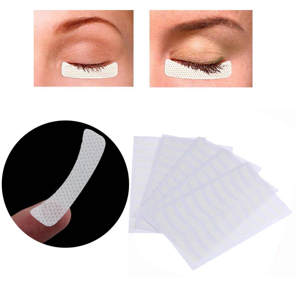 100 pcs/20 pcs di Trucco Magnetico Finte Bianco Tessuti Pad Adesivi Eye Lashes Extension Toppe e Stemmi Ciglia Make Up Strumenti maquillaje