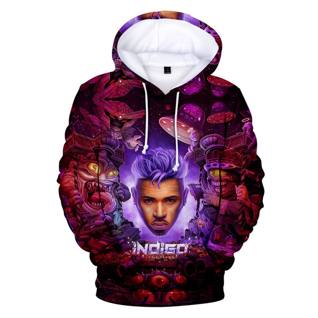 WELCOME TO MY LIFE CHRIS BROWN 3D HOODIE
