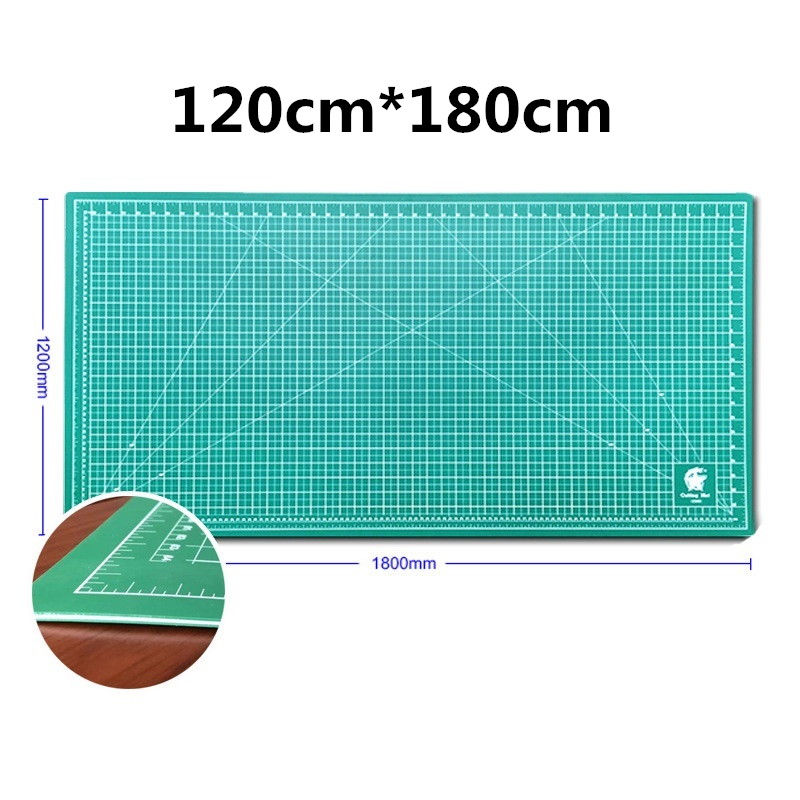 120cm×180cm Double-sided Self-healing Plate PVC Cutting Mat Patchwork Pad Artist Manual Sculpture Tool Home Carving Scale Board