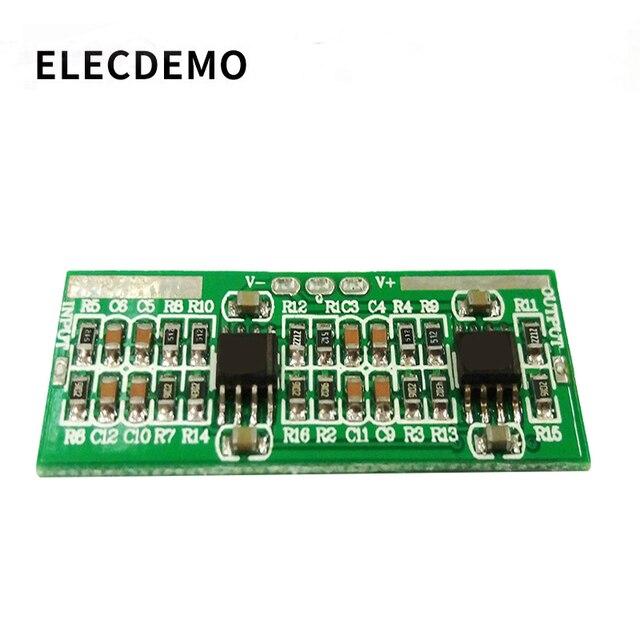 Alto valor Q 50Hz Filtro de muesca Módulo de acondicionamiento de señal Filtro de frecuencia