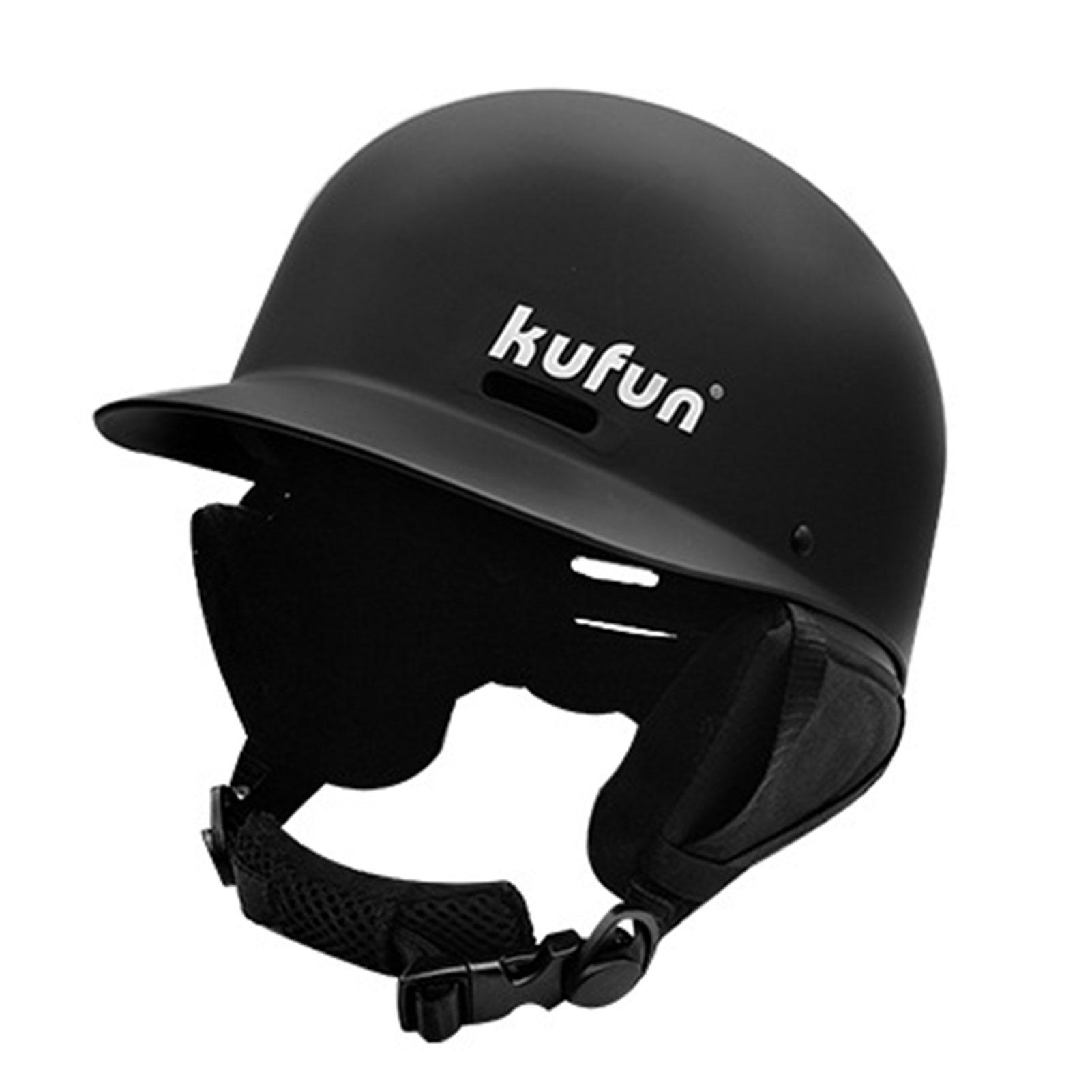 Winter Adult Ski Helmet Adult Snowboard Helmet Sports Safety Integrally-Molded Skiing Snow Helmet With Detachable Earmuffs