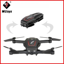 Original Wltoys RC Helicopter With Camera Q626-B Wi-Fi FPV 720P HD Selfie Drone Altitude Hold Quadcopter RTF Folded Toys