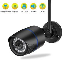 1080P HD IP Camera Wireless Wifi Waterproof Home Surveillance Camera Audio Record Email Alert Network CCTV Outdoor IP Camera good waterproof hd ip camera 1080p cctv security ip cam network video camera outdoor with audio in support pc mobile remote view