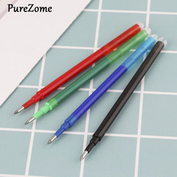 5pcs Black Green Blue Red Ink Erasable Gel Pen Refills Rods Large Capacity Writing Replacement School Supplies Stationery