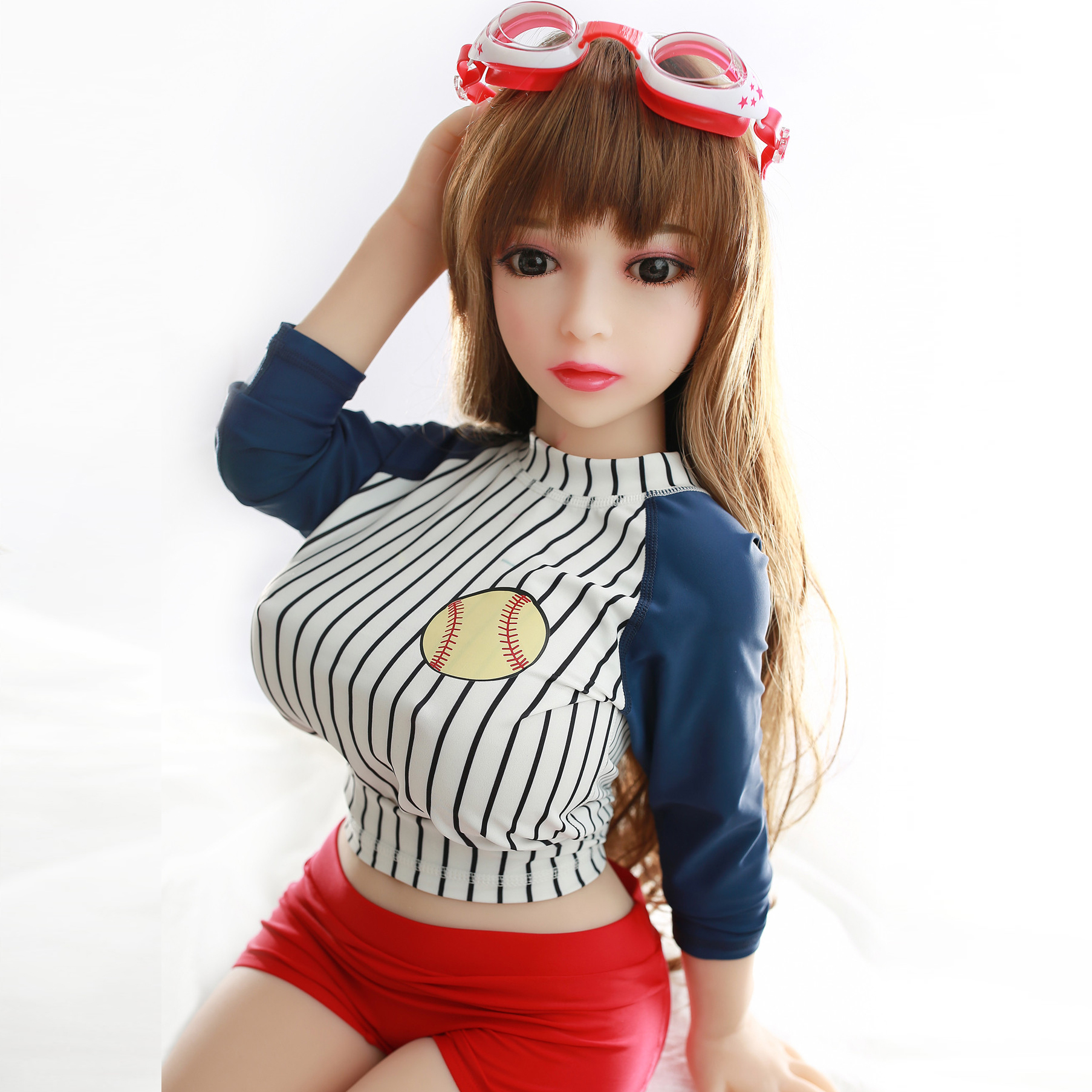PERSONAGE Love Dolls Silicone Realistic 100cm Sex Doll Boneka Sex Full Body Mini Sexdoll TPE Full Sex Toys for Man