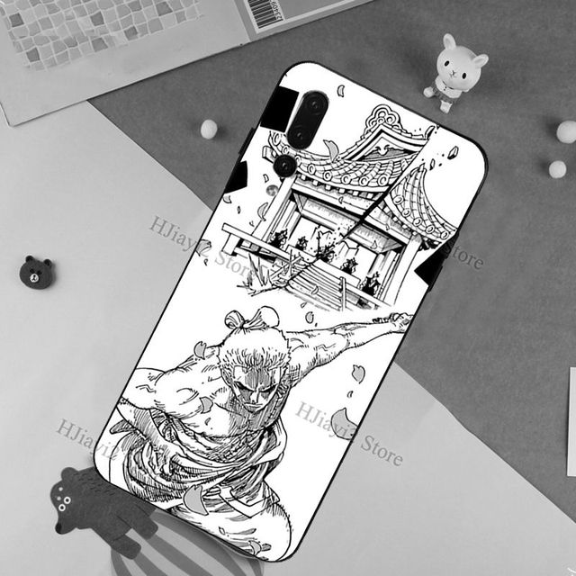 One Piece Zoro Case For Huawei P20 P30 P10 P40 Lite Mate 20 10 30 Pro P Smart Z 2019 Back Cover