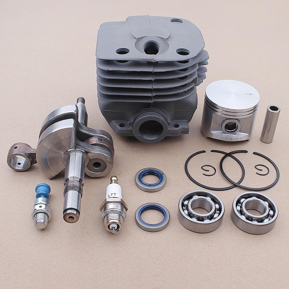 48mm Zylinder Kolben Kit für Husqvarna 362 365 371 372 Cylinder # 503 93 90 71