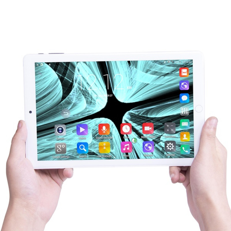 10.1 Inch Tablet Android 9.0 Octa Core 6GB RAM 128GB ROM 3G 4G LTE Wifi Bluetooth FM GPS Phone Call Tablet Pc 1920*1280 IPS