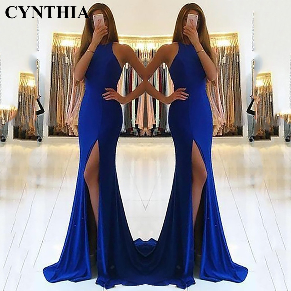 CYNTHIA 2020 New Style Spring WOMEN'S Dress Summer Dress Sexy Halter Slim Fit Sheath Hollow out Evening Gown Party Dress