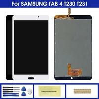 Pantalla para Samsung Galaxy Tab 4 7 0 SM T231 T230 T235 SM T231 SM T230 MONTAJE DE digitalizador con pantalla táctil de reemplazo de partes Tablets LCD y paneles    -